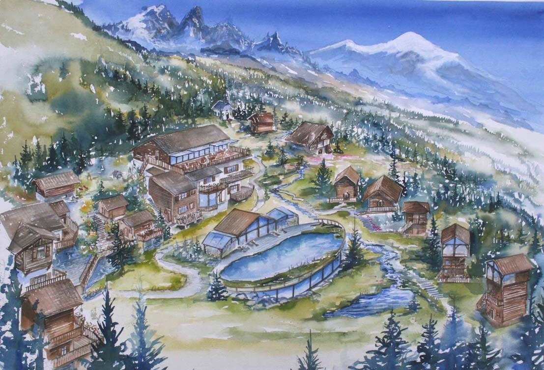 Hotel Ecolodge de charme et de caractère Chamonix