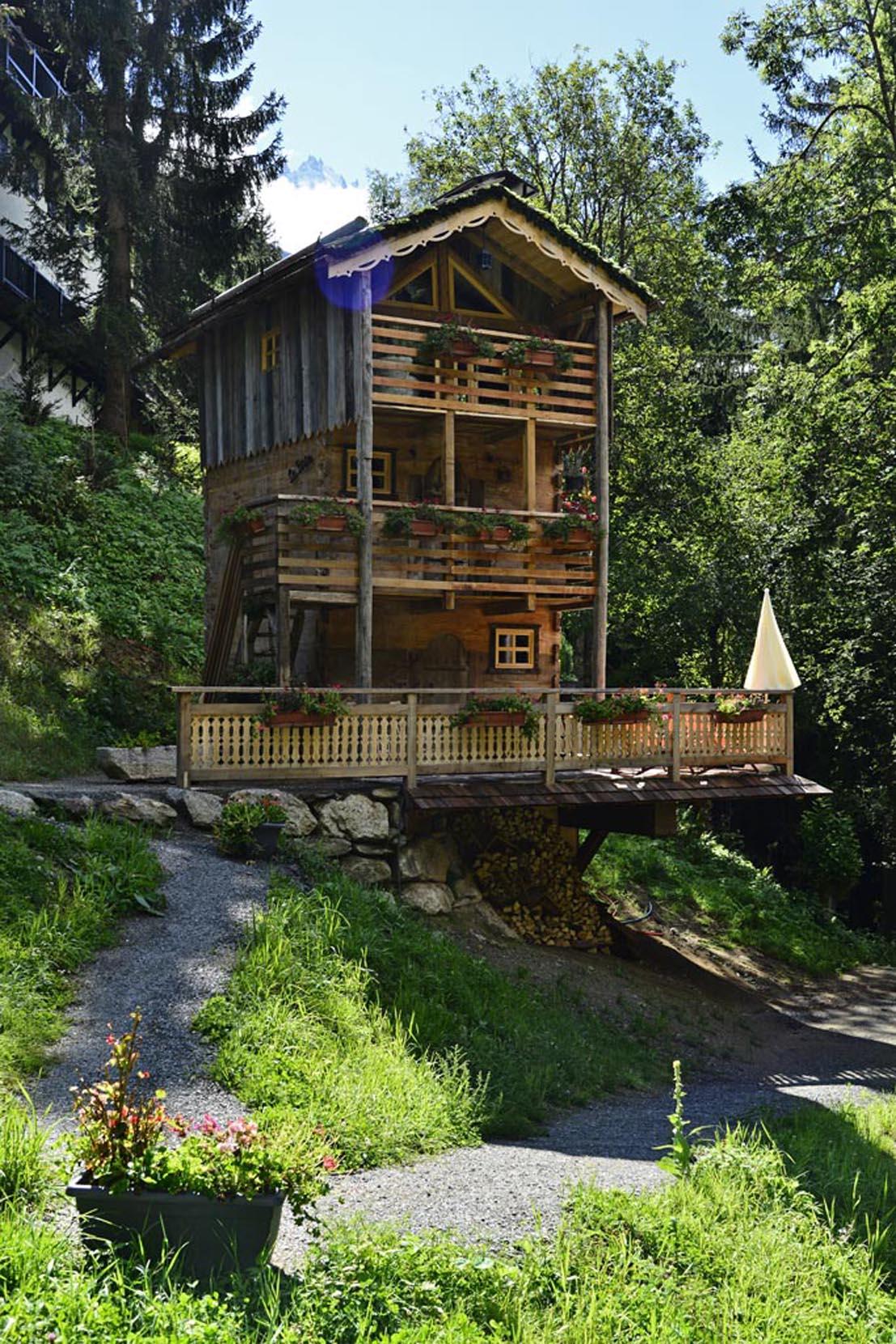 Chalet la Batie - Location chalet insolite montagne alpes