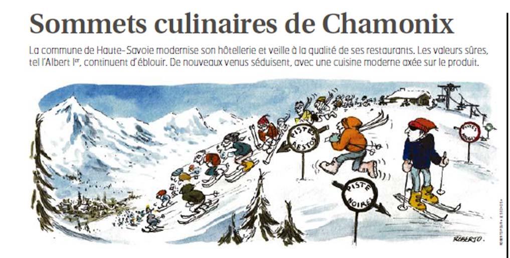 Les chalets secrets de Chamonix - Les Echos