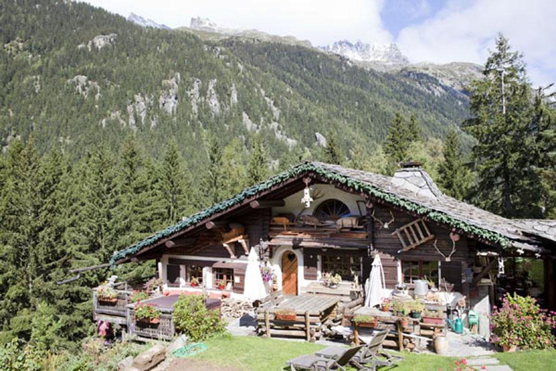 Les Grandes Jorasses location chalet ultra luxe à Chamonix
