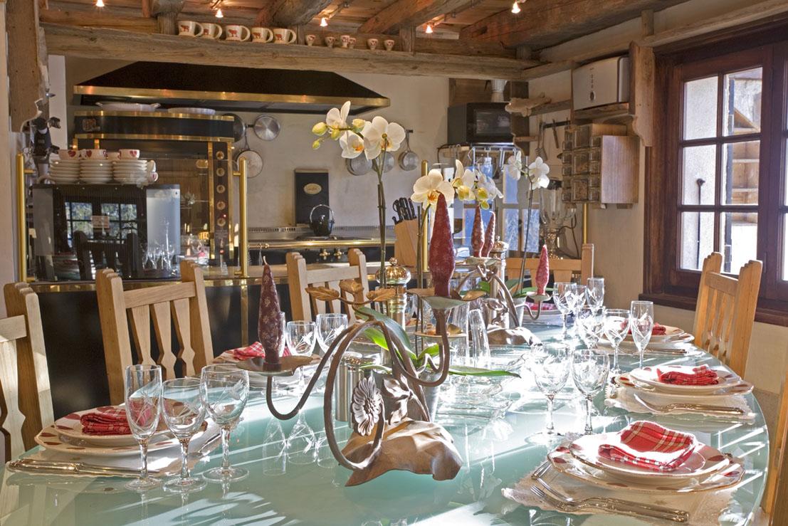 Restaurant gastronomique chamonix les tables de philippe for La cuisine de philippe menu