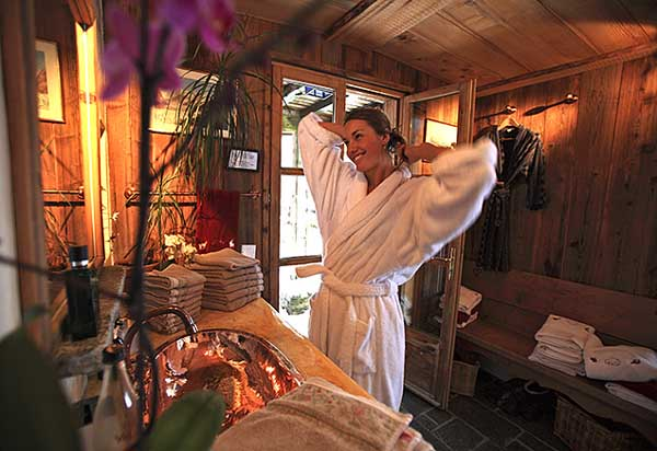 Hammam des Chalets de Philippe Chamonix