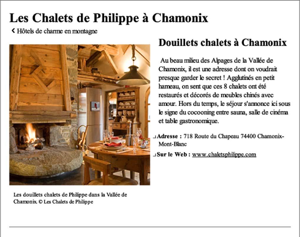 Les chalets de philippe chamonix brest design - Les chalets de philippe chamonix ...