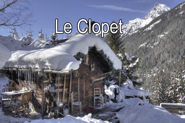 Location chalets Chamonix insolites, de caractère et de charme - Le Clopet