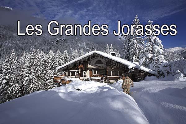 Location chalets insolites chamonix - Les Grandes Jorasses