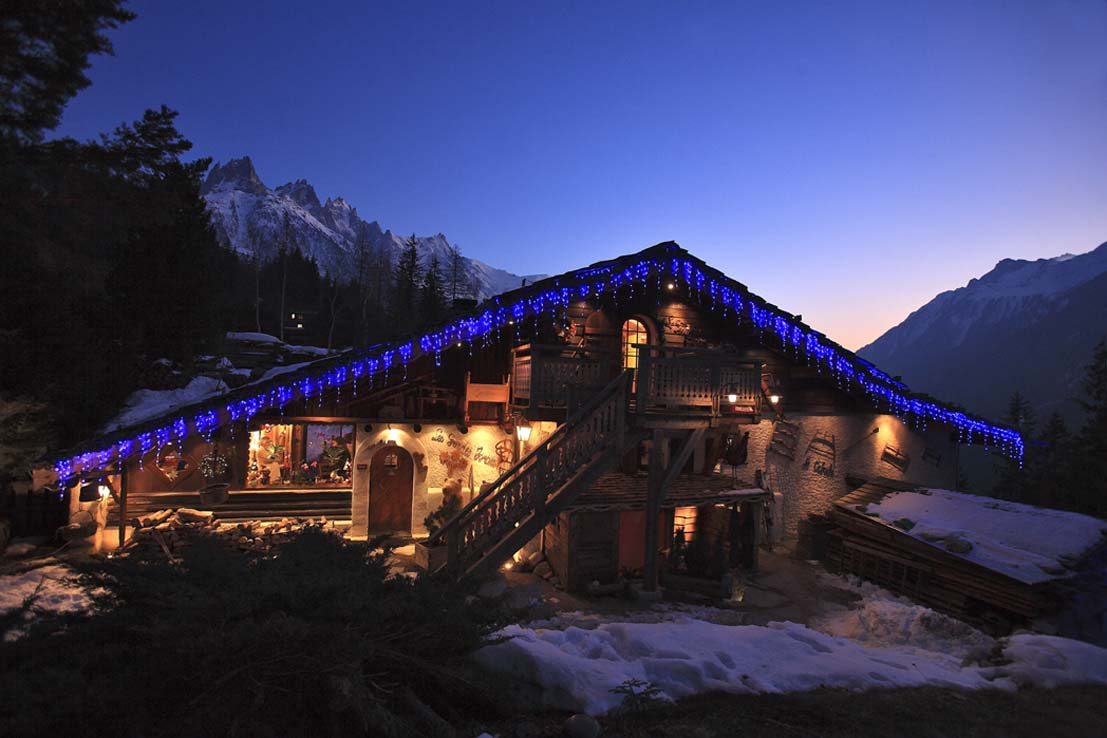 location chalet ultra luxe chamonix - package top vip