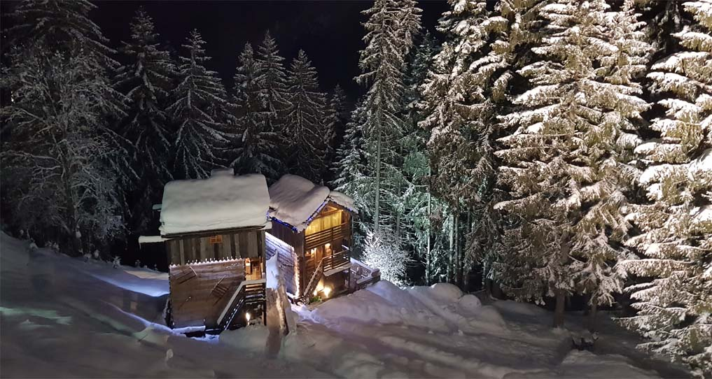 Hotel restaurant Chamonix - Location de chalets avec jacuzzi privatif