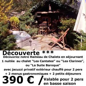 Bon cadeau séjour découverte - Hotel Chamonix