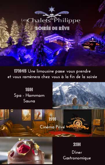 soiree reve chalets philippe
